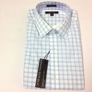 New Banana Republic Men's Button Down Shirt Cotton